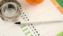 Свой дневник похудения