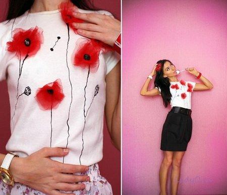 Трафареты для одежды своими руками